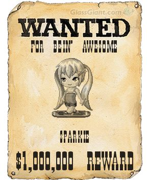 WANTED posters:) | Sparkle-chan's Blog